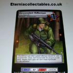 G.I.Joe Trading card Game 2004 23/114 No 23 Greenshirt Rifleman (common) @sold@